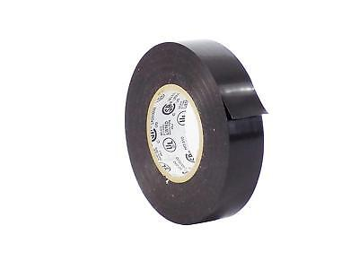 Professional Electrical Tape - WOD Professional Grade Vinyl Rubber Adhesive Electrical Tape 1/2