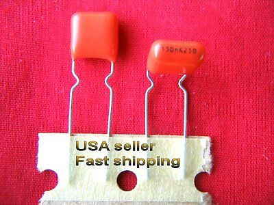 4 pcs - .15uf  (0.15uf, 150nf) 250v metalized poly film capacitors FREE SHIPPING