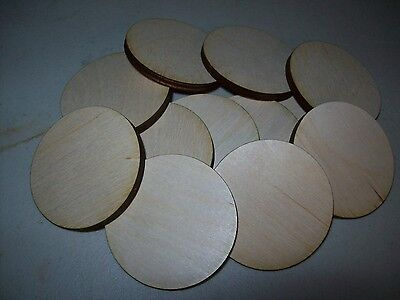 Unfinished Wooden Circle Circles 14 inch diameter x 1/4'' thick