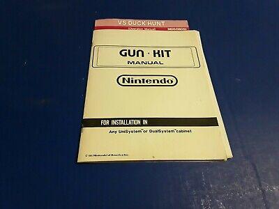 Nintendo VS. Duck Hunt Gun Kit Manual