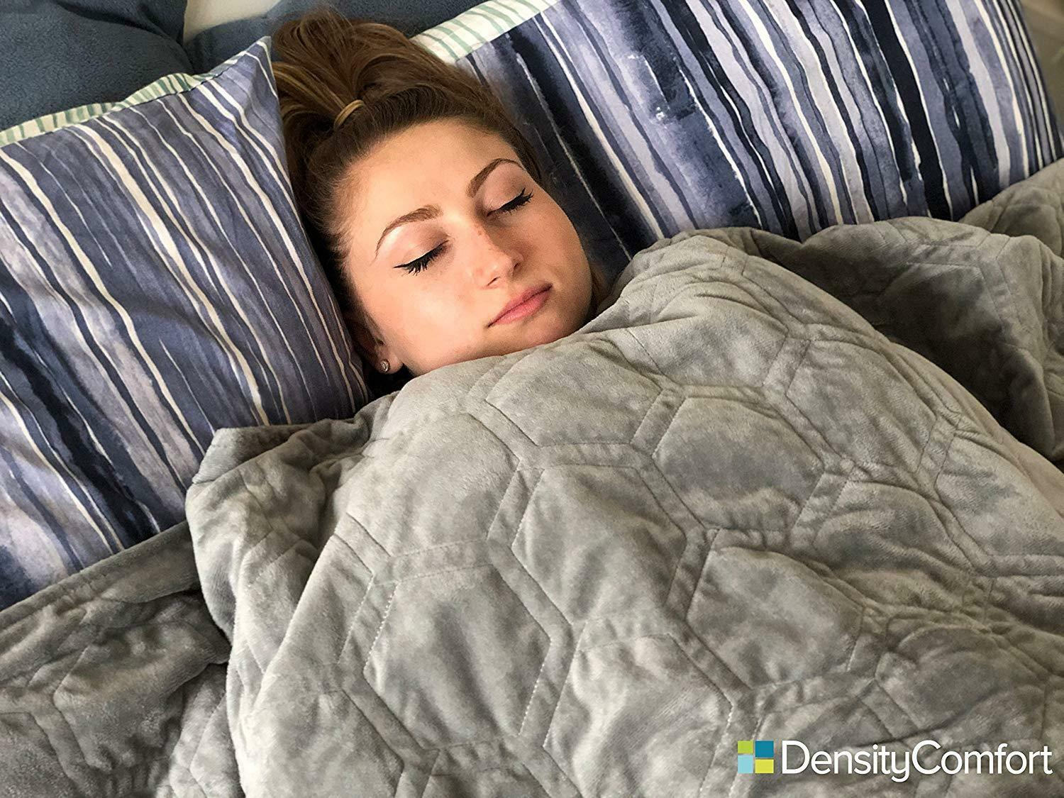 DensityComfort Weighted Blanket Adult Sensory Anxiety 15 lbs