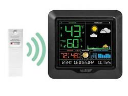 S84107 La Crosse Technology Wireless Color Weather Station with TX141TH-BV2 NIB