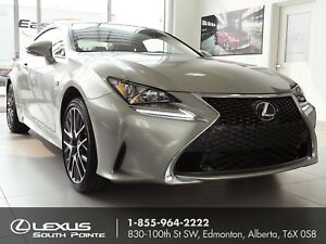 2017 Lexus RC 300 F SPORT 1 w/ navigation, backup camera and...