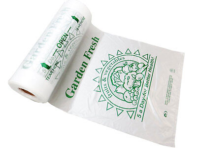 Plastic Bag Rolls-hdpe 5 A-day Produce Rolls 12x20-11 Mic