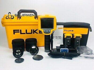 Fluke Ti32 2 Xtra Lens 10mm 40mm Infrared Thermal Imaging Camera Ir Imager