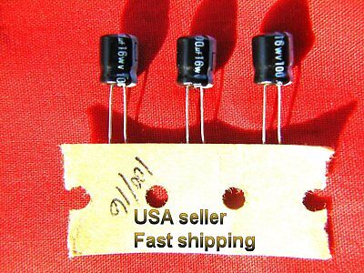 4 pcs   -   100uf  16v   electrolytic capacitors  FREE SHIPPING