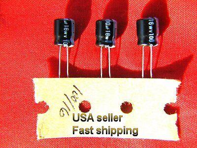 4 Pcs  -  100uf 16v  Electrolytic Capacitors Free Shipping