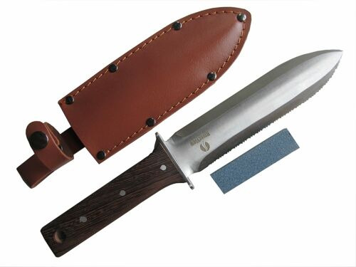 Hori Hori Multi-use Japanese Garden and Camping Knife/Digging Tool–(A
