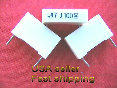 4 Pc - .47uf 0.47uf 470nf 100v 5 Tol Metalized Film Capacitors Free Shipping