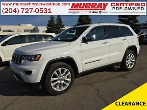 2017 Jeep Grand Cherokee Limited 4WD *Nav* *Selec-Terrain* *Back