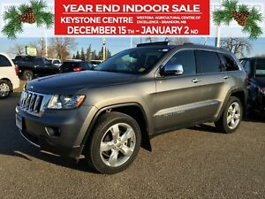 2013 Jeep Grand Cherokee Overland 4WD *Air Suspension* *Selec-Te