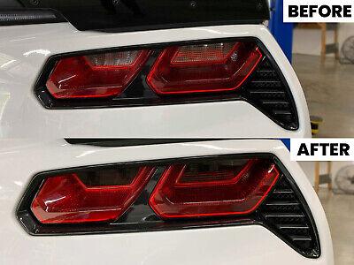 2014 - 2019 Chevrolet Corvette C7 Stingray Reverse and Turn Signal Smoke Overlay