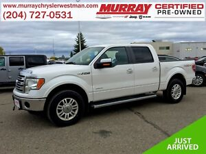2013 Ford F-150 SuperCrew Lariat 4WD *Rear DVD* *Wifi* *Backup C