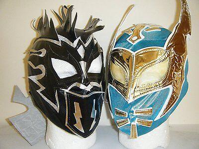 Sin Cara & Kalisto Kinder Wrestling Maske Kostüm Verkleidung Wwe Lucha Drachen