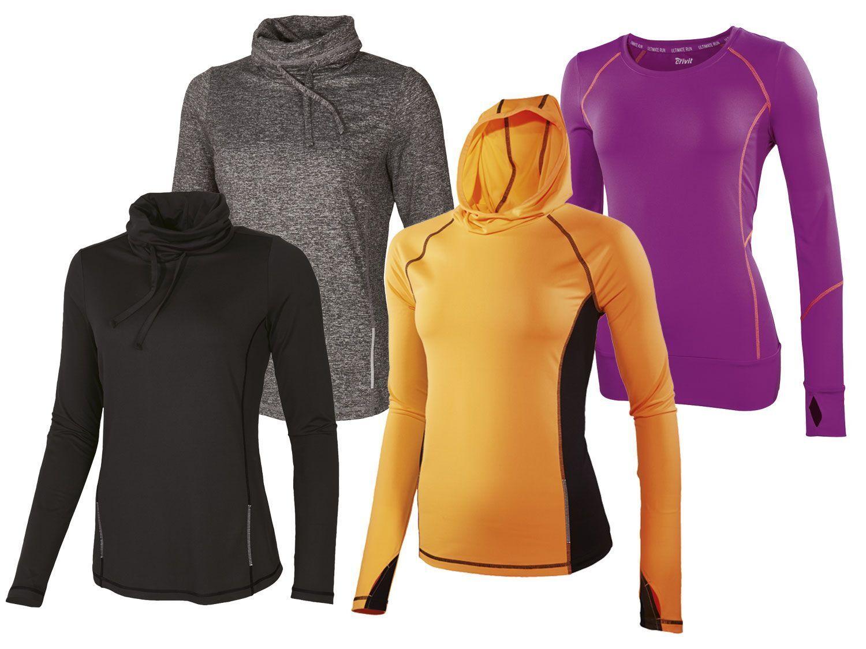 Crivit Damen Funktionsshirt Sportshirt Shirt T-Shirt Laufshirt Fitness S - L NEU