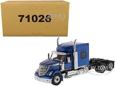 INTERNATIONAL LONESTAR SLEEPER CAB TRUCK BLUE 1/50 MODEL DIECAST MASTERS 71026