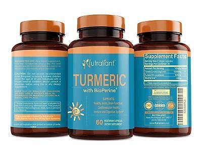 Best Turmeric Curcumin Supplement with BioPerine Black Pepper Optimum (Best Turmeric With Black Pepper Supplements)