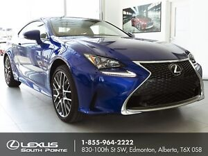 2017 Lexus RC 300 F SPORT Series 1 w/ active sound control, n...
