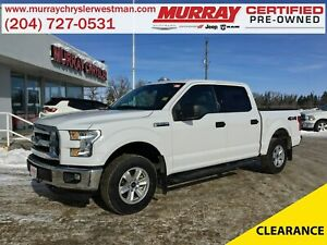 2016 Ford F-150 SuperCrew XLT 4WD *Backup Camera*