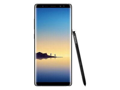 Samsung Galaxy Note 8  At T   64Gb  Midnight Black  Orchid Gray  Sm N950