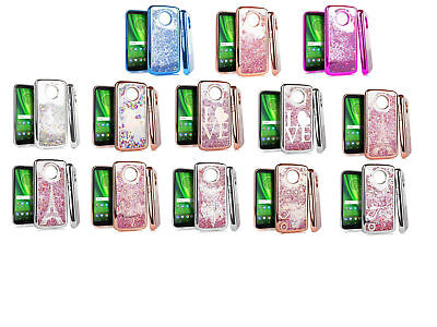 Chrome Motion Quicksand Case Cover For Motorola Moto E5 Cruise Phone