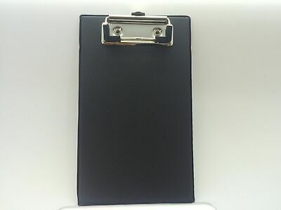 Pack Of 10 A6 Black Mini Clipboards - Ideal For Orders Restaurantsbarspubsect