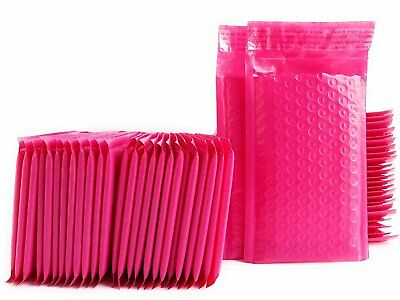 10 Pcs Pink Poly Bubble Padded Envelopes Self-sealing Mailers 6x10