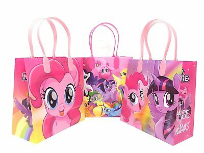 New! 12PCS Hasbro My Little Pony Goodie Party Favor Gift Birthday Loot Bags - My Little Pony Bags