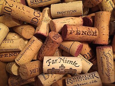 Premium Recycled Natural Wine Corks From Around the US for Home Decor 100 Count.