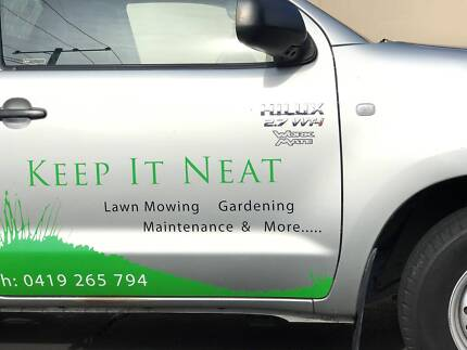 Lawn Mowing & Gardening Business - NOT a franchise.
