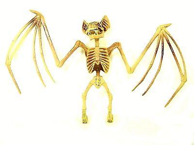 BAT SKELETON Bones Hanging Halloween Decor Party Decoration Eerie Accessories I](Eerie Halloween Decorations)