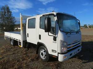 2014 Isuzu NPR250/300 Crew Premium AMT - STEEL TRAY - LOW KLMS! North Macksville Nambucca Area Preview