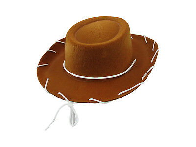 Child Cowboy Cowgirl Hat Jessie Ranch Woody Western Costume Vintage 1950'S