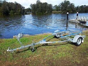 GAL BOAT TRAILER SUITS UP TO 4.35 mt ALUMINIUM HULL 180 kg TARE Erina Gosford Area Preview