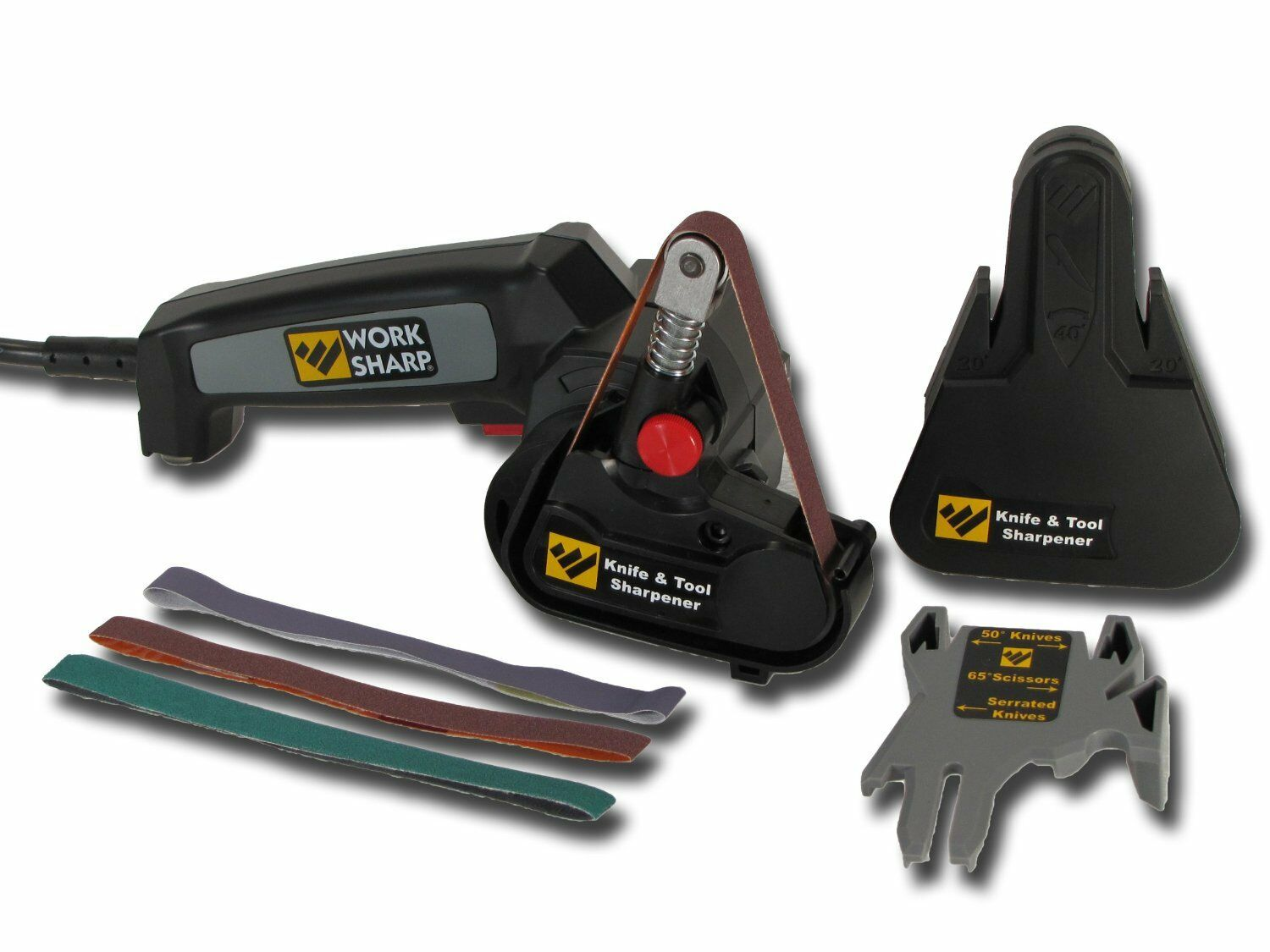 WORK SHARP WSKTS Knife and tool sharpener, WorkSharp