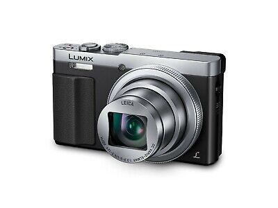 Panasonic Lumix DMC-TZ70EB-S Superzoom Kompakt Kamera - Silber/Schwarz Panasonic Super-zoom-kamera