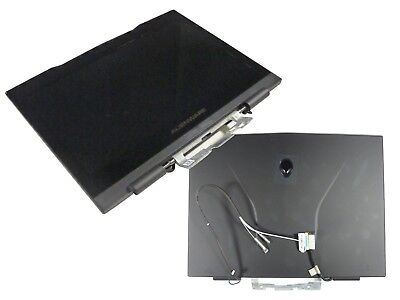NEW GENUINE DELL ALIENWARE M11X R2 R3 COMPLETE SCREEN W/HINGES: R2Y7G FPDTH