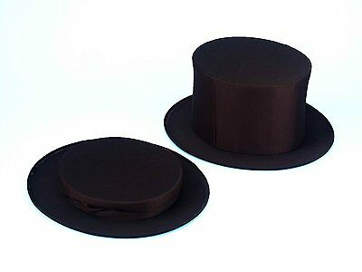 Collapsible Top Hat Magic Magician Adult Costume Accessory - Collapsible Top Hats
