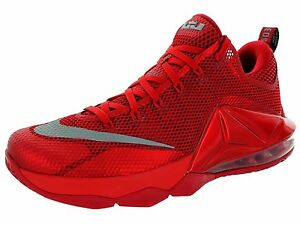 new styles d72ec c9744 ... where can i buy nike lebron xii low 724557 616 university red silver  basketball 103e7 397c4