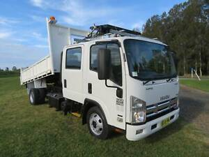 2012 Isuzu NPR300 Crew AMT AUTO - TIPPER - VERY LOW KLMS! North Macksville Nambucca Area Preview