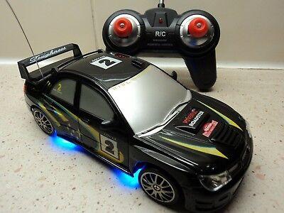 Subaru Impreza WRC Style 4WD Radio Remote Control Car RC Drift Car 1/24 Scale