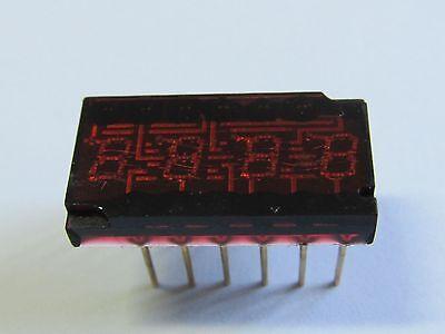 DL34 SIEMENS 4-fach 2,8mm LED-Display gem.Kathode im DIL-Gehäuse  (A12/6405)