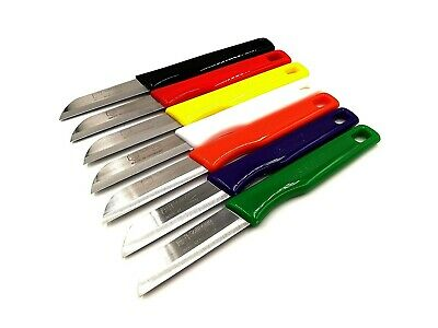 7 Solinger Küchenmesser Gemüsemesser Solingen Obstmesser Bandstahl 16cm rostfrei Gemüsemesser