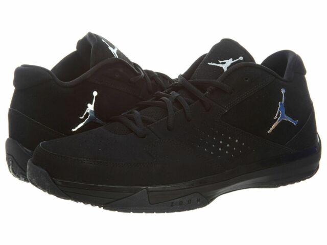 Nike Jordan ISO II Low Mens 510943-002 Black Silver Basketball ...