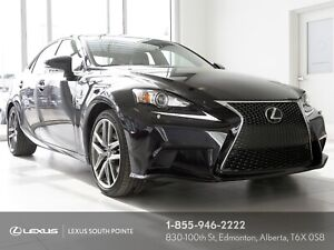 2014 Lexus IS 250 F SPORT 3 w/ remote starter, navigation and...