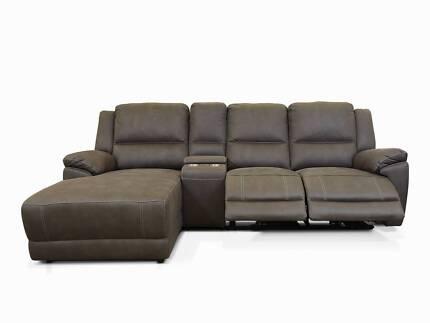 BRAND NEW - KANSAS 2 SEATER WITH CHAISE RECLINER