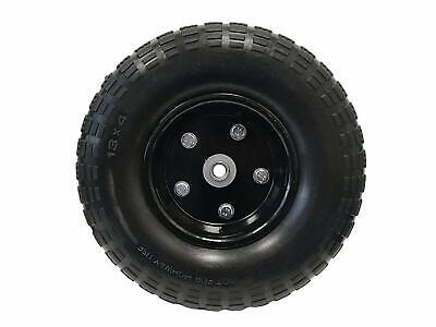 13 Flat Free Hand Truck Tire And Wheel With 58 Center Shaft Hole