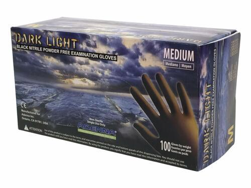 Adenna DARK LIGHT Nitrile PF Exam Gloves DLG-Medium