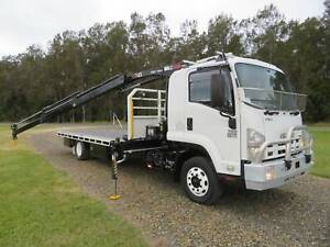 2008 Isuzu FSD700/850'S' LONG - CRANE TRUCK North Macksville Nambucca Area Preview