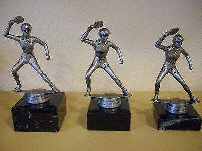 3er Figuren - Pokal Tischtennis Damen incl. Gravur
